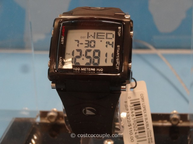 Freestyle Lopex III Mens World Time Watch Costco 2