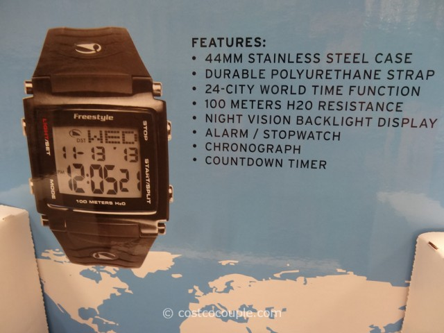 Freestyle Lopex III Mens World Time Watch Costco 3