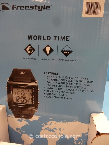 Freestyle Lopex III Mens World Time Watch Costco 4