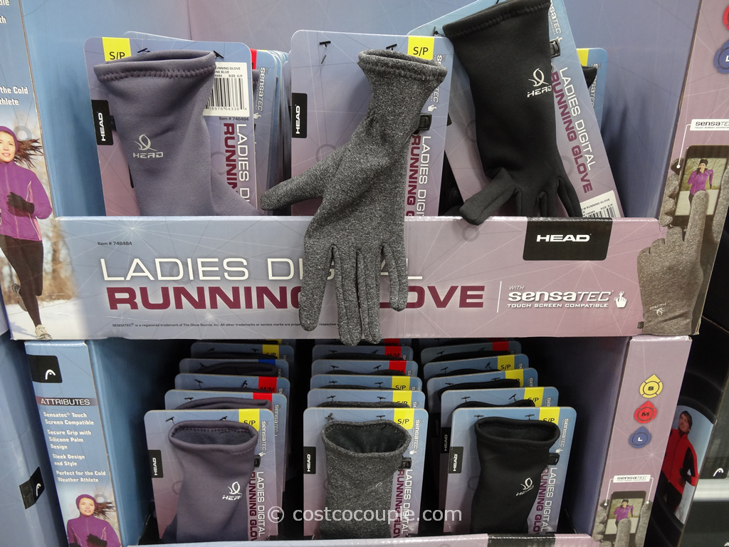 Head Ladies Digital Running Gloves Costco 2