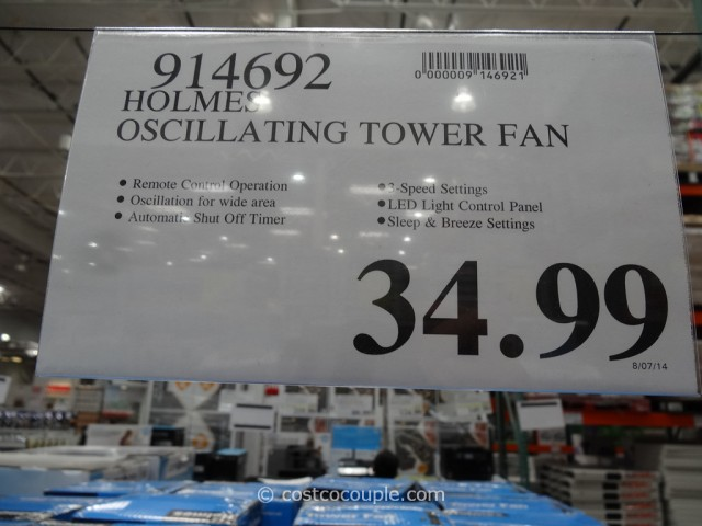 Holmes 32-Inch Tower Fan Costco 1