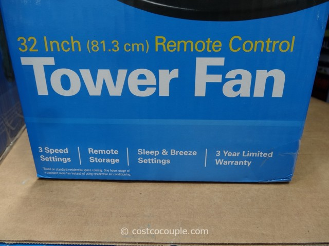 Holmes 32-Inch Tower Fan Costco 5