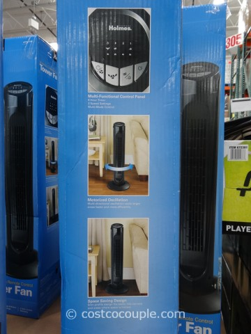 Holmes 32-Inch Tower Fan Costco 6