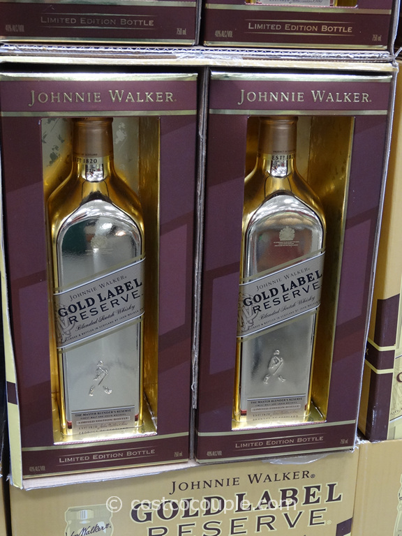 johnny walker gold label reserve blended scotch whisky
