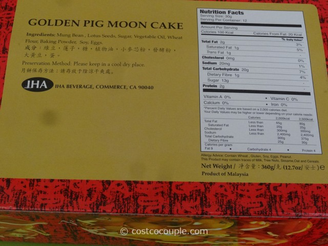 Kam Wah Moon Cakes Costco 6