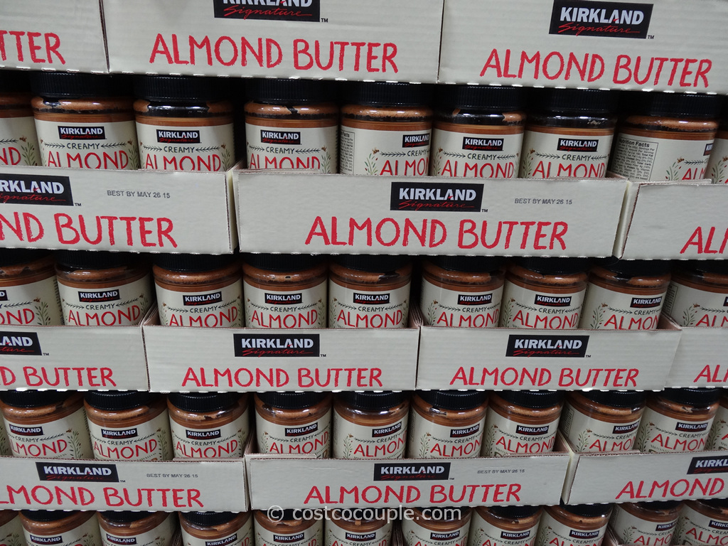 Kirkland Signature Almond Butter Costco 1