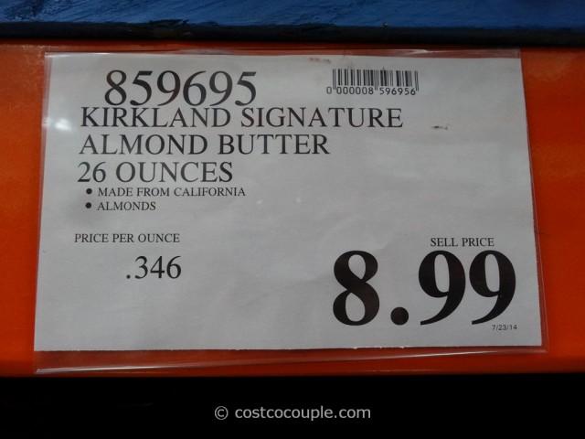 Kirkland Signature Almond Butter