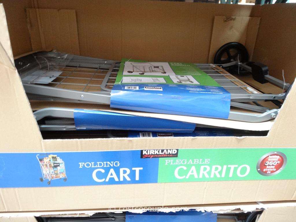 Kirkland Signature Folding Shopping Cart Costco 2