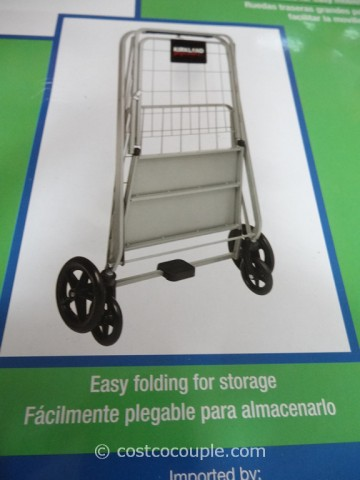 Kirkland Signature Folding Shopping Cart Costco 3