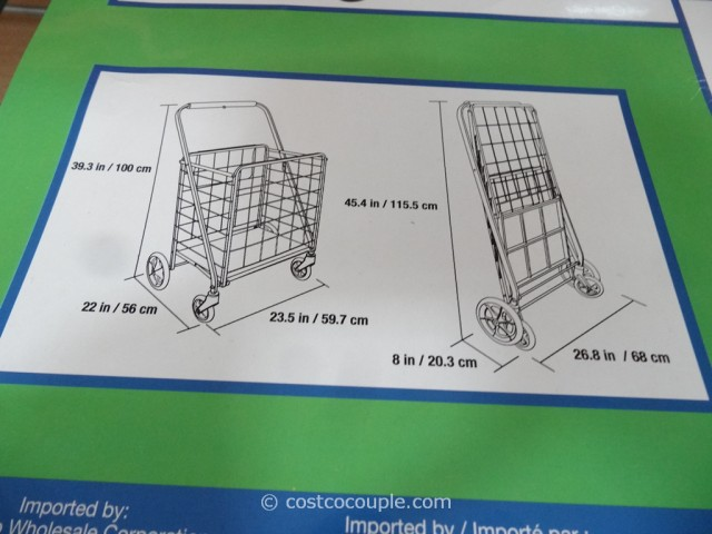 Kirkland Signature Folding Shopping Cart Costco 5