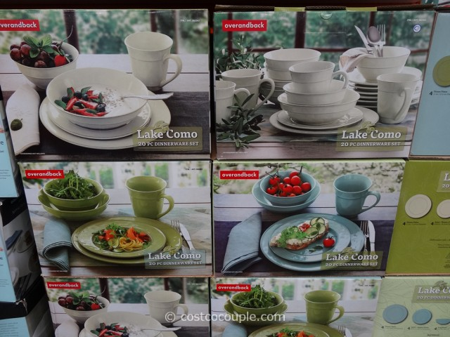 & Lake Como Dinnerware Set