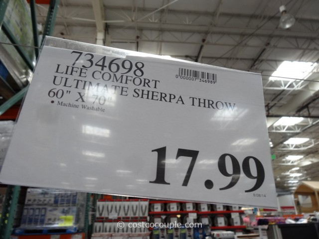 Life Comfort Ultimate Sherpa Throw Costco 10