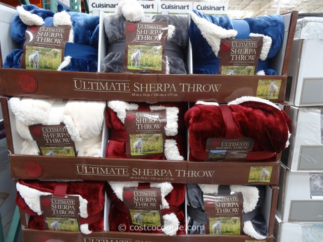 Life Comfort Ultimate Sherpa Throw Costco 7