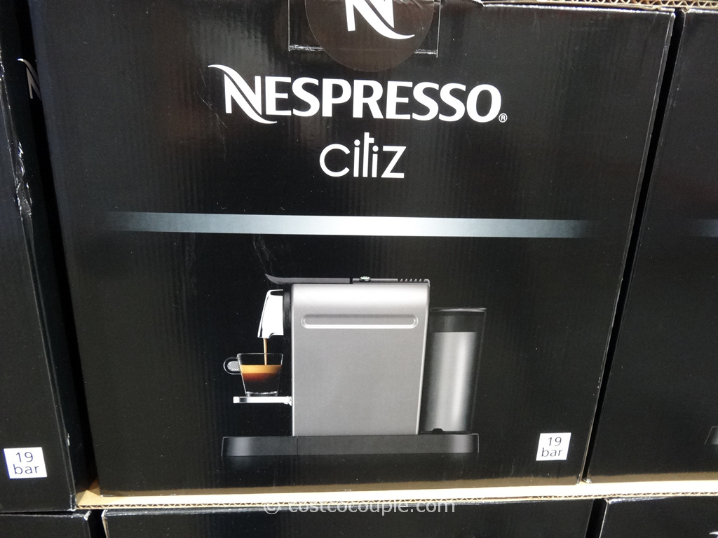 nespresso machine at costco