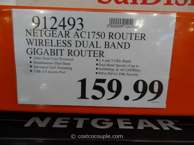 Netgear Nighthawk AC1750 Smart Wifi Router Costco 1