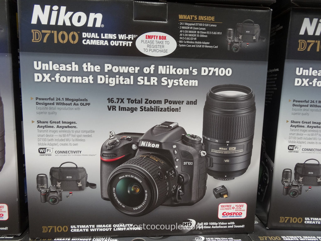 Nikon D7100 DSLR Kit Costco 2