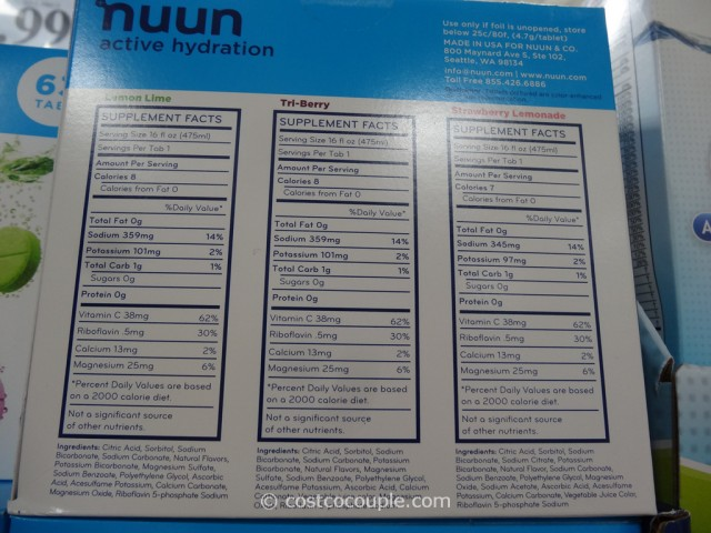 Nunn Active Hydration Tablets Costco 3