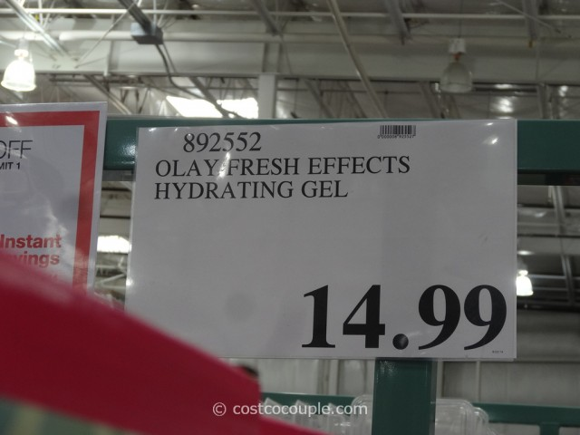 Olay Fresh Effects Cleanser and Moisturizer Pack Costco 5