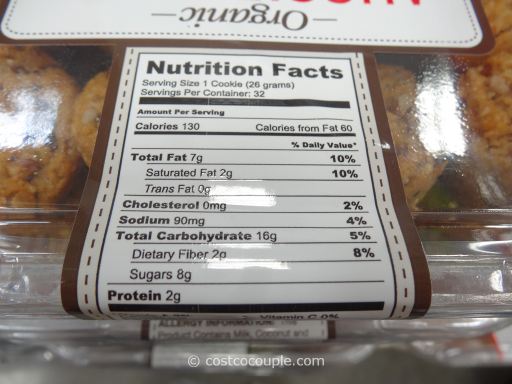 Costco Fruit Cake Ingredients