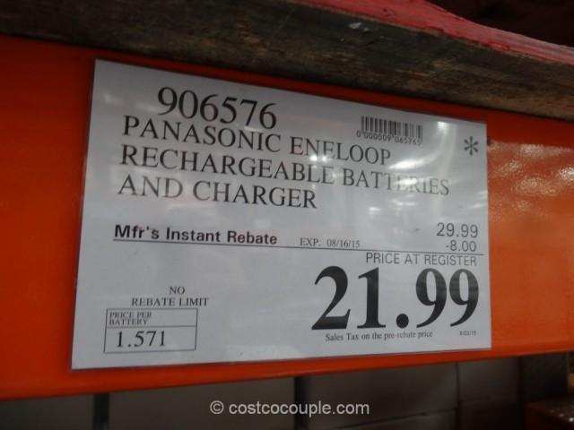 Panasonic Eneloop Costco