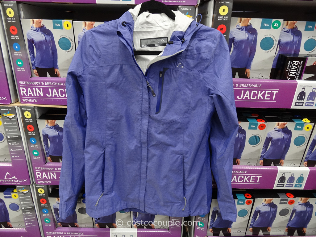 Paradox Ladies Rain Jacket Costco 6