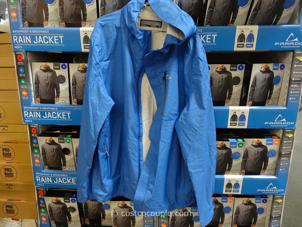 Paradox Mens Rain Jacket Costco 2