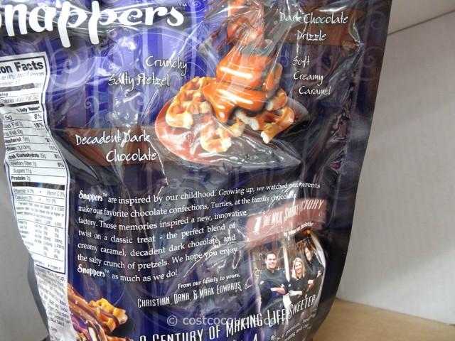 Pretzel Snappers Dark Chocolate Caramel Costco 3