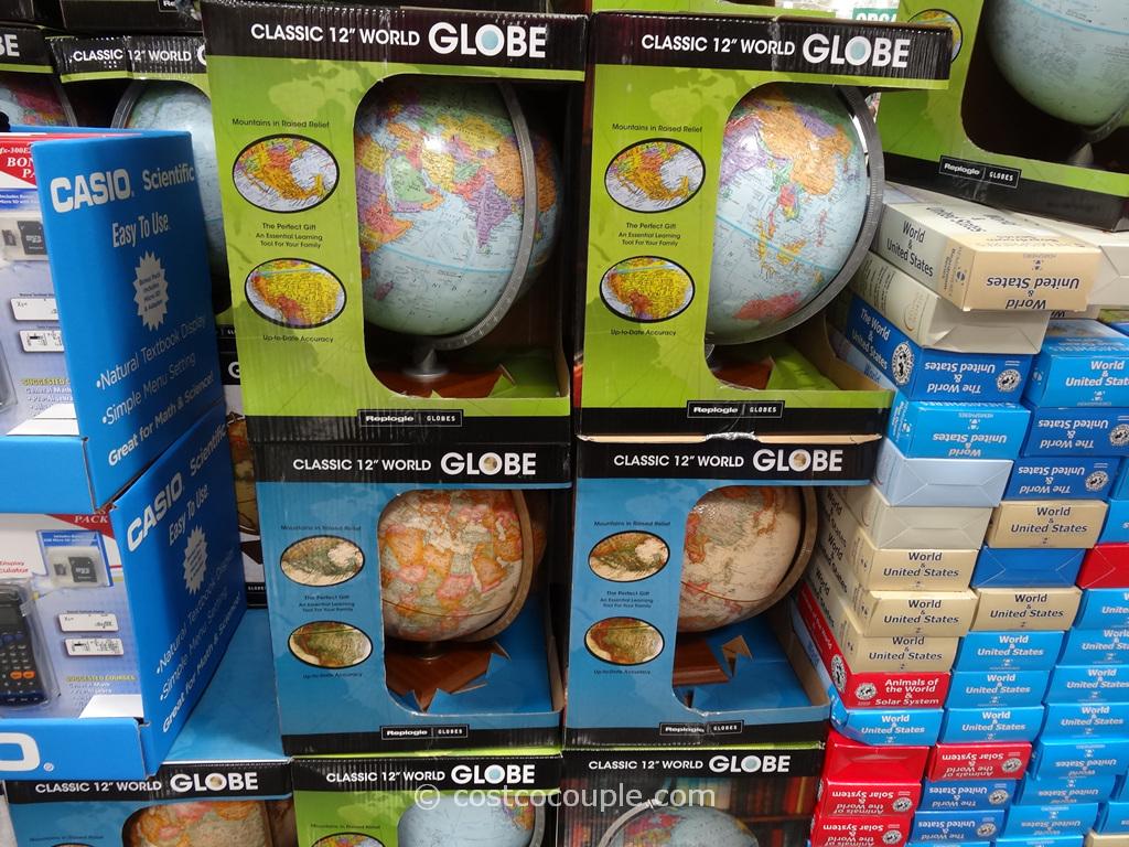 Replogle 12-Inch World Globe Costco 1