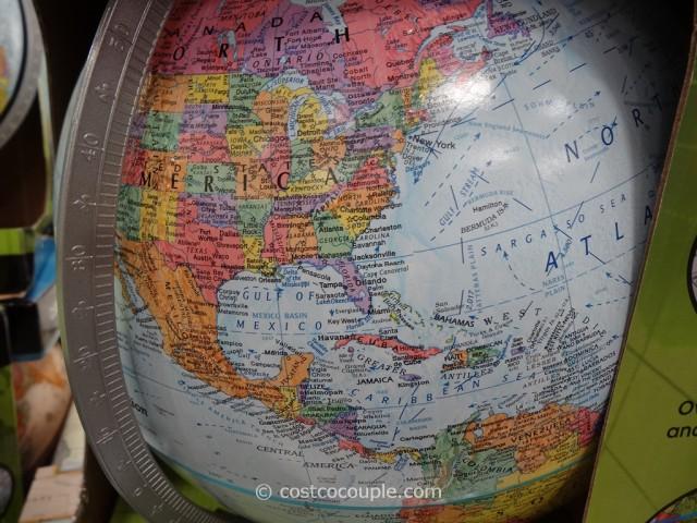 Replogle 12-Inch World Globe Costco 3