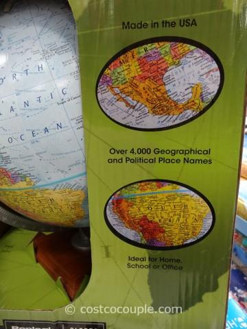 Replogle 12-Inch World Globe Costco 4