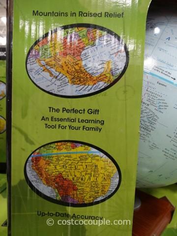 Replogle 12-Inch World Globe Costco 5