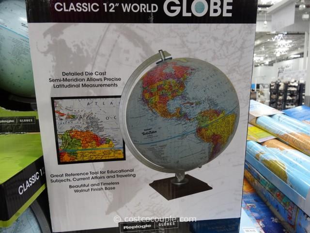 Replogle 12-Inch World Globe Costco 6