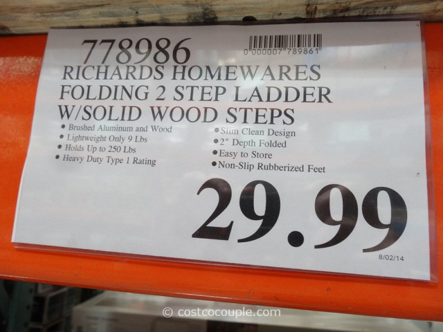 Richard Homewares Folding Step Ladder