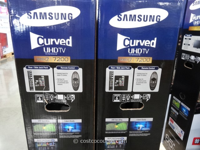 Samsung 65-Inch Curved 4K Ultra HD LED TV Costco 4