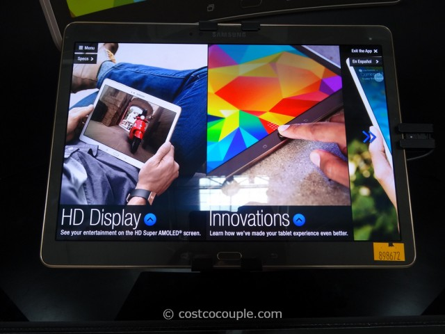 Samsung Galaxy Tab S 10-Inch Tablet Costco 2