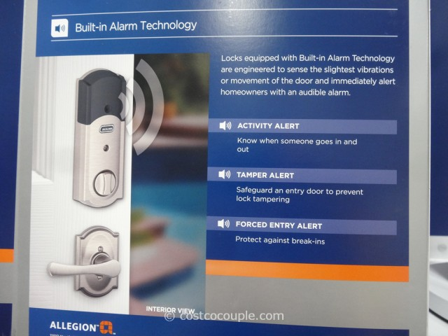 Schlage Lock Company Touchscreen Deadbolt Costco 6
