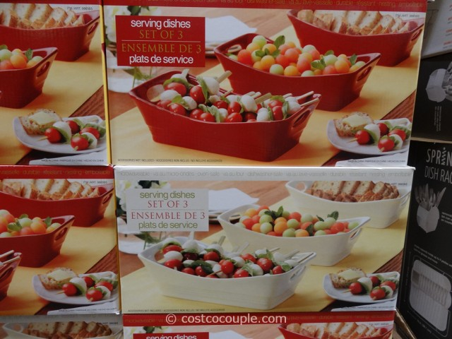 Stoneware Serving Dish Set Costco 4