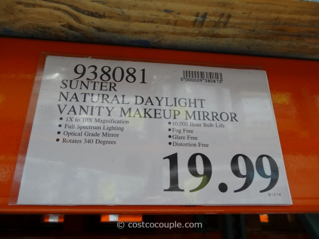 Makeup Mirror With Light Costco - Makeup Vidalondon