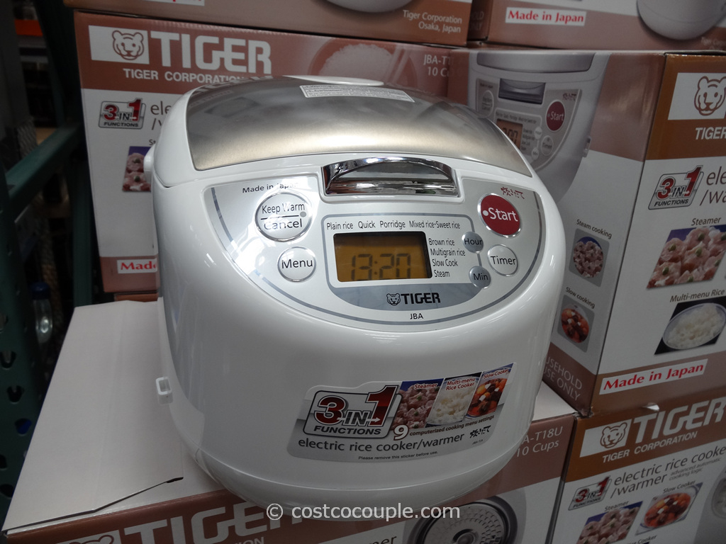 Tiger 10-cup Rice Cooker Costco 2