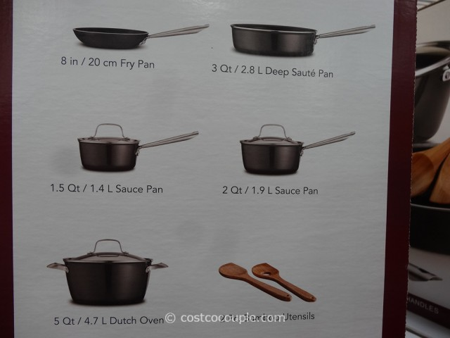 Tramontina 10-Piece Cookware Set Costco 3