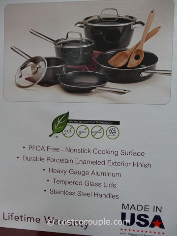 Tramontina 10-Piece Cookware Set Costco 5