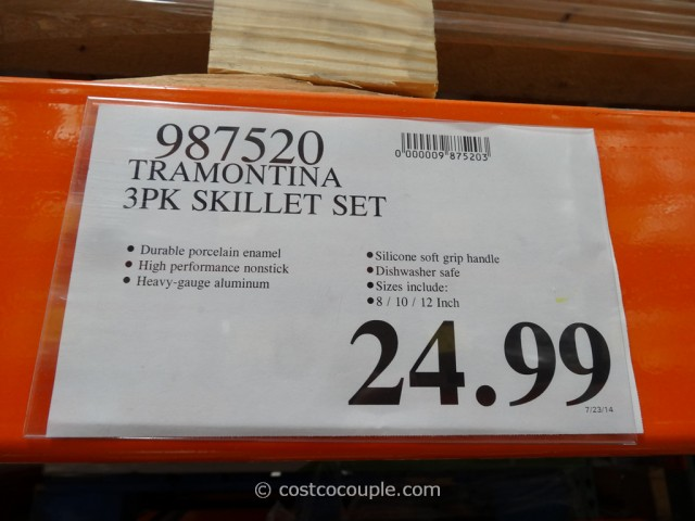 Tramontina Skillet Set Costco 1