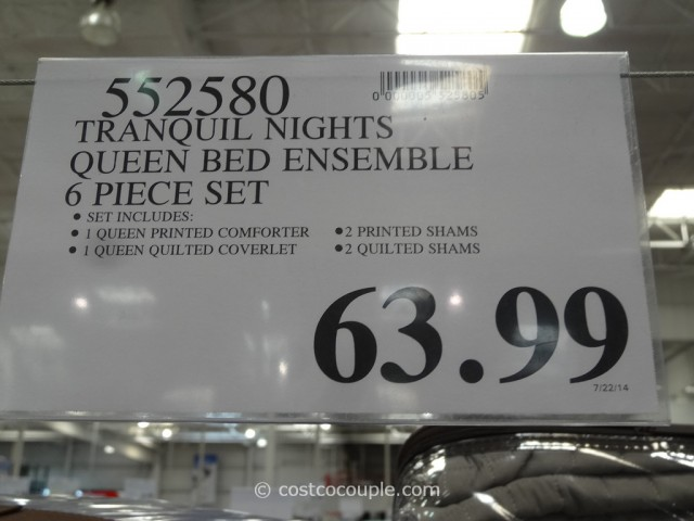 Tranquil Nights Reversible Bed Ensemble Costco 1