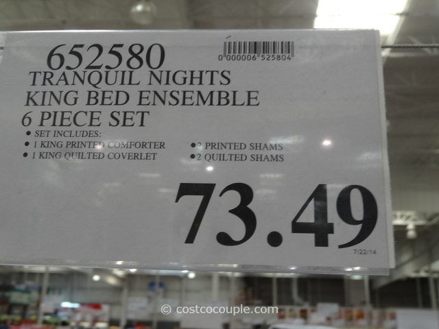 Tranquil Nights Reversible Bed Ensemble Costco 2