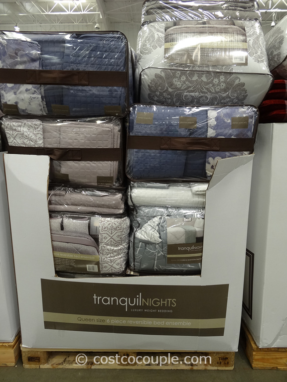 Tranquil Nights Reversible Bed Ensemble Costco 6