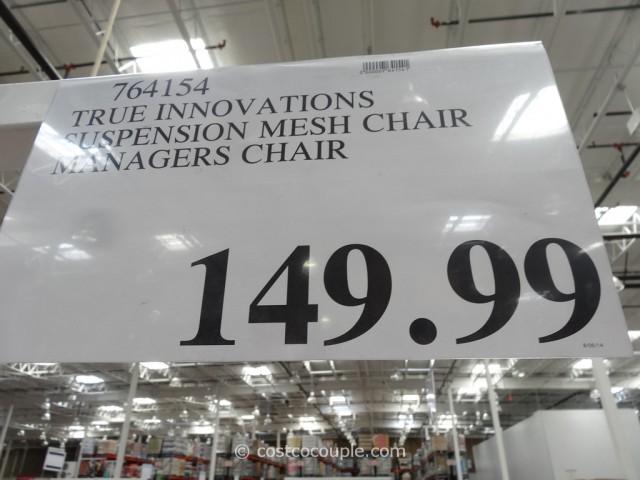True Innovations Artaeus Ergonomic Mesh Work Chair Costco 1