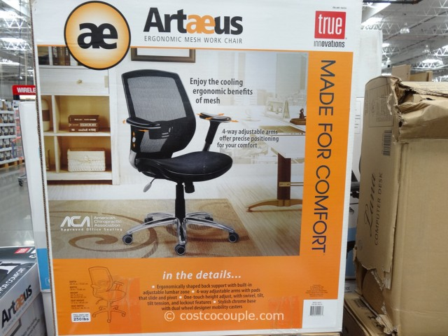 innovations artaeus ergonomic mesh work chair is priced at
