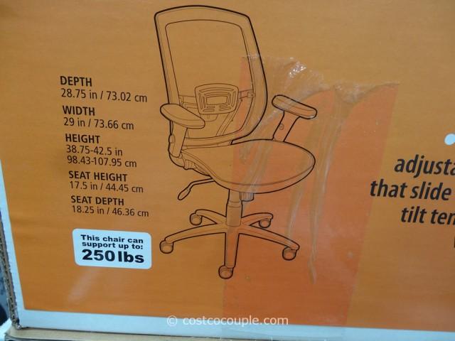 True Innovations Artaeus Ergonomic Mesh Work Chair Costco 7