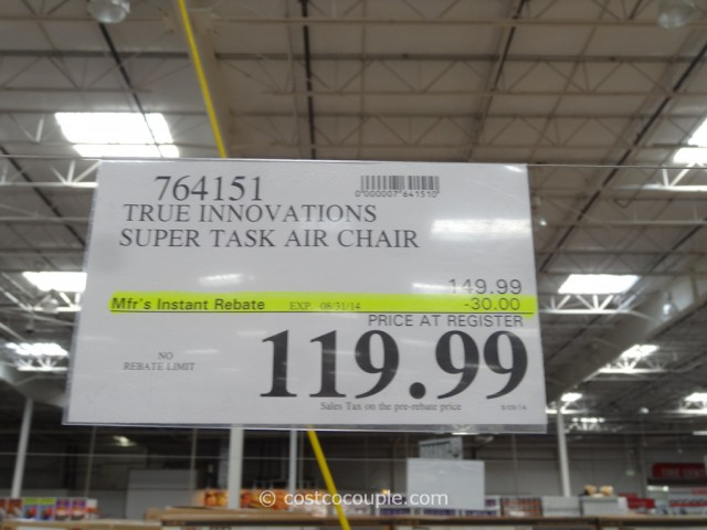 True Innovations Super Task Air Chair Costco 1