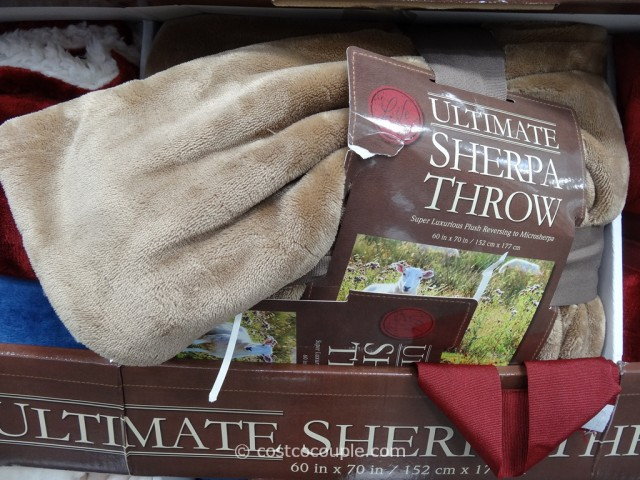 Ultimate Sherpa Throw Costco